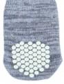 Protiskluzové šedé ponožky, 2 ks pro psy XS-S (čivava)