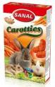 SANAL CAROTTIES - mrkvové křupky pro hlodavce 45g DOPRODEJ