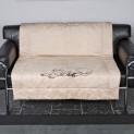:Deka King of Dogs 125 x 100 cm - béžová DOPRODEJ