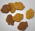 RATITE SNACK MIX - dvoubarevné sušenky ptáci 1 kg