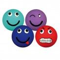 :Latexový míček - smajlík - různé barvy, plněný 6cm DOPRODEJ