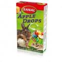 SANAL APPLE DROPS - vitamínový drops s jablky 45 g DOPRODEJ