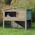 :Natura dřevěný dům s výběhem, králík 124x102x78cm DOPRODEJ