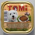 TOMI alu paštika krůta, těstoviny a mrkev pro psy 150 g