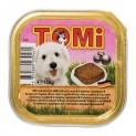TOMI alu paštika telecí pro psy 150 g