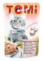 TOMI kapsička telecí a krůta pro kočky 100 g