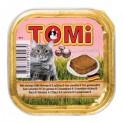 TOMI alu paštika s krevetami pro kočky 100 g