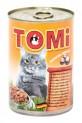 TOMI konzerva kachna a játra pro kočky 400 g