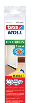 Fotogalerie: Kefová lišta pod dvere, na koberce, hnedá, 1m x 43mm tesamoll 05403-00101-00