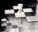 Šachovnice k záhradnému šachu