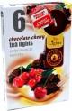 Svíčka čajová 6 ks-chocolate-cherry 3950355