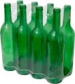 Láhev na víno 0,75 l zelená 1880258