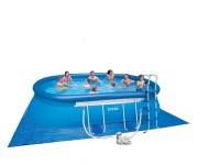 Fotogalerie: Bazén Marimex Tampa ovál 3,05 x 5,49 x 1,07 m KOMPLET, bohaté príslušenstvo
