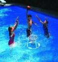 Plávajúce basketbalový kôš