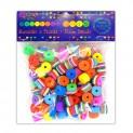 dpCraft Korálky penové - farebné, (KSPI-080)
