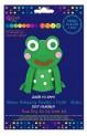 dpCraft Kreatívne penová bábka - žabka, (KSPI-092)