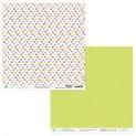 dpCraft Obojstranný papier 30,5 x 30,5 cm - Floral Market 06, 5 ks, (PYDU-014-P06)