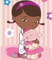 Detský koberec Doktorka McStuffins 01 Doc a Lambia 95x133 cm
