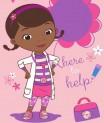 Detský koberec Doktorka McStuffins 03 Doc to help 95x133 cm