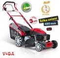 Motorová kosačka VeGa 495 ŠxH 6in1 s variabilnou rýchlosťou pojazdu