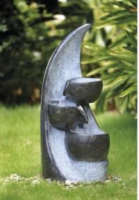 Záhradná fontána Mesačný misky