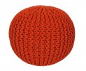 Pletený puf Coolpouf 777 orange