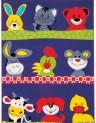 Detský koberec Kiddy 651/621 80 x 150 cm