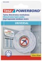 tesa Powerbond Montážna obojstranná penová páska UNIVERSAL, biela, 1,5m x 19mm 58565-00000-00