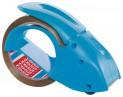 tesa Ručný odvíjač baliacej pásky PACK N GO vrátane pásky, modrý, pre rozmer 66m x 50mm 51112-00000-00