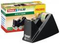 tesafilm Stolný odvíjač pásky Ecology s páskou ECOaCLEAR, zubaté ostrie, plastový, čierny, dodávané s páskou 10m x 15mm 59327-00000-00