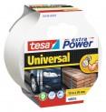 tesa Opravná páska Extra Power Universal, textilné, silne lepivá, biela, 10m x 50mm 56348-00005-05