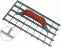 Škrabák na omítku 290x150 mm mřížkový ozubený 1950285